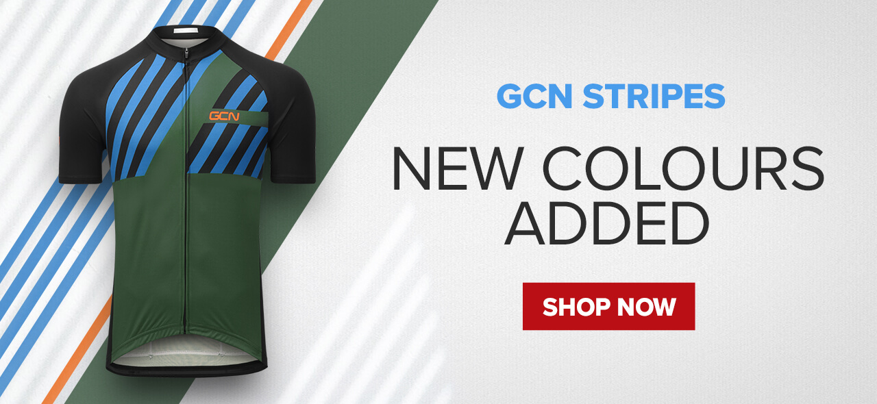 GCN Green & Blue Stripes Collection